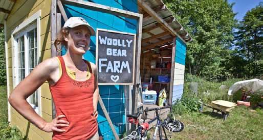 Liz at Woolly Bear Farm