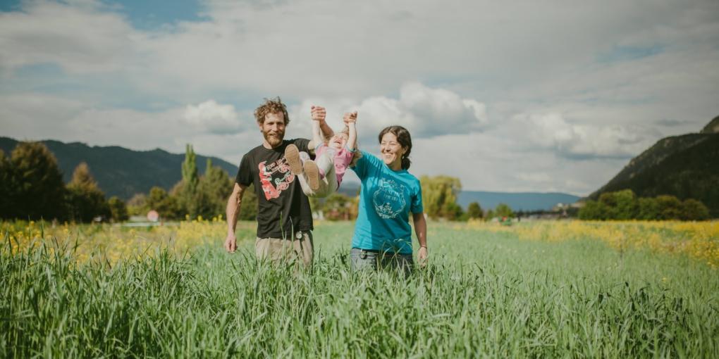 Certified Organic farmers at Golden Ears Farm